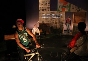 Book-It Repertory Theatre's production of Financial Lives of the Poets.