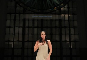 "Vespertine Opera's production of ""Rape of Lucretia"" at St. Mark's Cathedral in Seattle, WA.  January 2014"